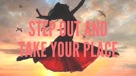 Step out and take